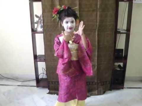 Little Girl as Geisha - Fancy Dress Competition / Halloween  sc 1 st  YouTube & Little Girl as Geisha - Fancy Dress Competition / Halloween - YouTube