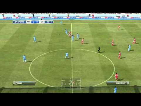 FIFA 12 Arsenal vs Manchester city full game.