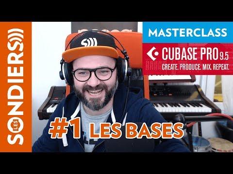 Cubase Pro 9.5 – #1 Les Bases – Les Masterclass du jeudi