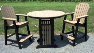 Comfort Craft: All-weather/maintenance-free Poly Furniture