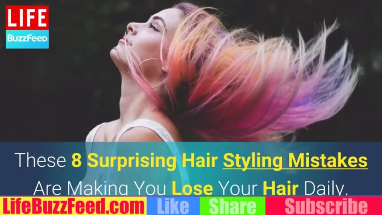 8 Styling Mistakes That Are Making You Lose Your Hair 8 Styling Mistakes That Are Making You Lose Your Hair new images