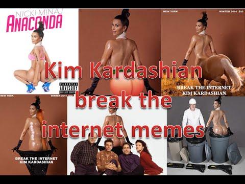 Kim Kardashian Break The Internet Meme