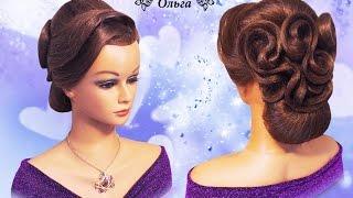 Свадебная прическа на длинные волосы Wedding hairstyle.Kapralova Olga(Подписывайтесь на мой канал и получайте уведомления о моих новых видео уроках! http://www.youtube.com/channel/UCdWRM-FJOzpHjswy196..., 2016-03-19T15:36:28.000Z)