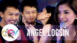 Angel Locsin kisses one lucky fan | GGV