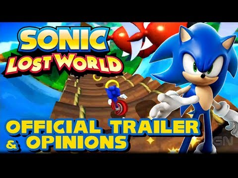 Sonic Lost World Wii U - Official Gameplay Trailer, Opinions, & Speculation!