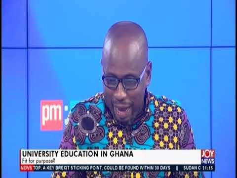 University Education In Ghana Prt 1 - PM Express on JoyNews (21-8-19)