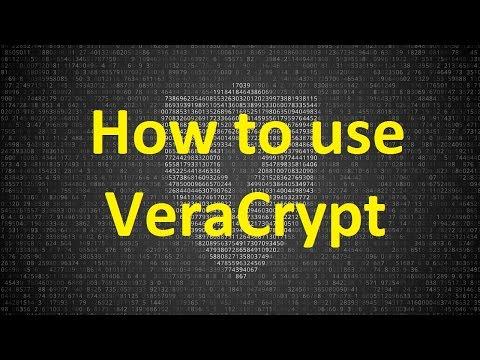 How To Encrypt USB Flash Drive Or Hard Drive - VeraCrypt