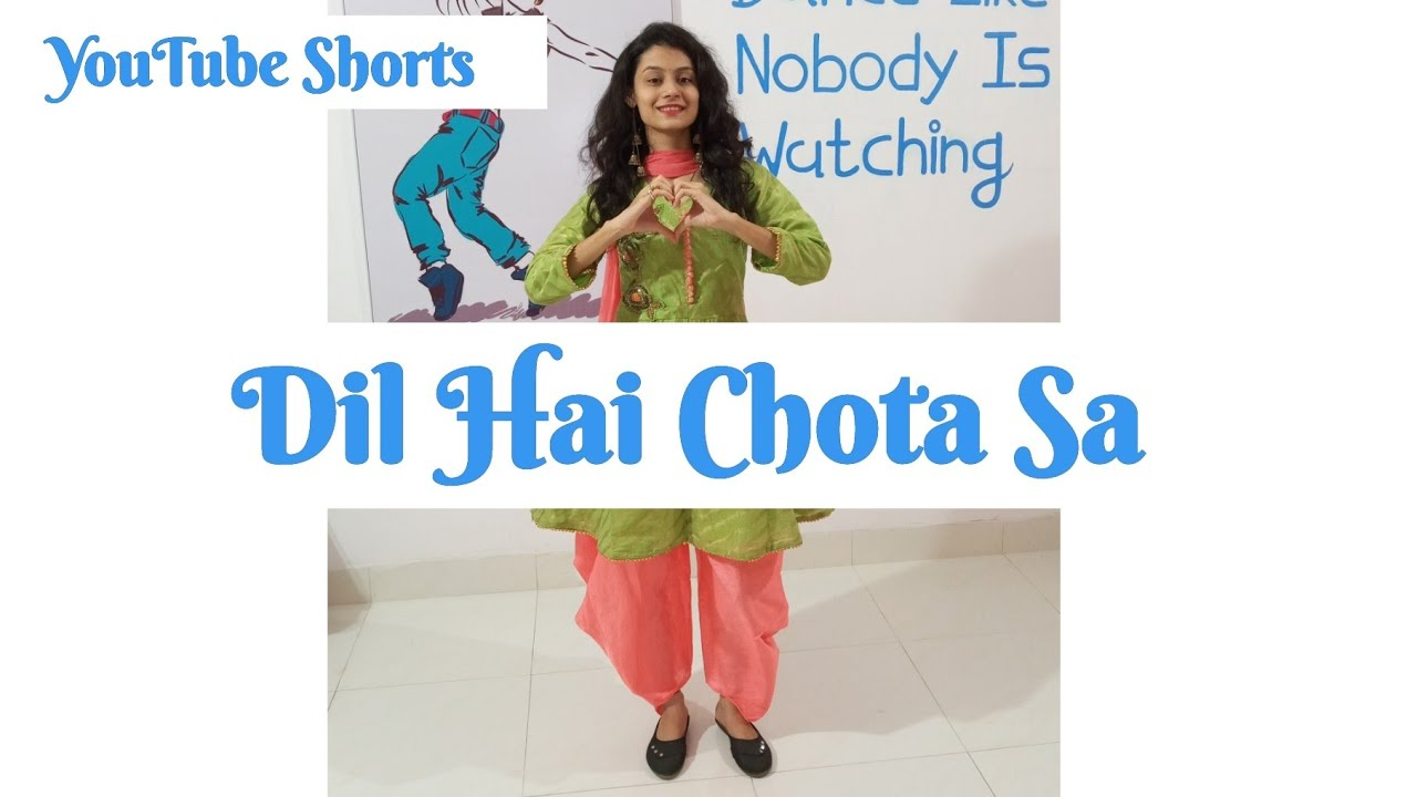 Dil Hai Chota Sa | Amisha Modha Choreography | #Shorts #ytshorts Thank you For 11k Subscribers ❤