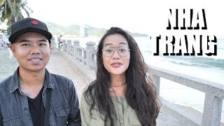Nha Trang with a Vietnamese Belarusian Girl - (Vietnam Road Trip Vlog - Saigon to Nha Trang)