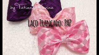 Laço Trançado by Tatiana Karina - How To Make a Hair Bow