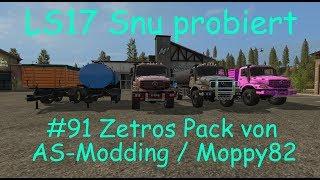 LS17 | Snu probiert | #91 Zetros Pack von AS-Modding / Moppy82