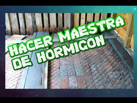 Como hacer unas maestras para alisar hormigon youtube - Como hacer una solera de hormigon ...
