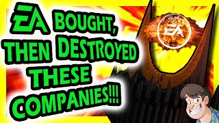 10 Companies EA Bought, Then DESTROYED!!! | Fact Hunt