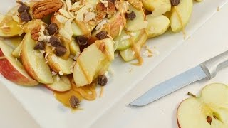 How To Make Apple Nachos - Easy Apple Snack | Radacutlery.com