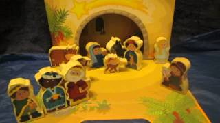 Haba Wooden Nativity Set For The Toadstool