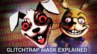 Glitchtrap Mask & Secret Audio Explained! (FNAF VR: Help Wanted Theory)