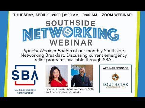 Southside Networking Webinar Feat SBA