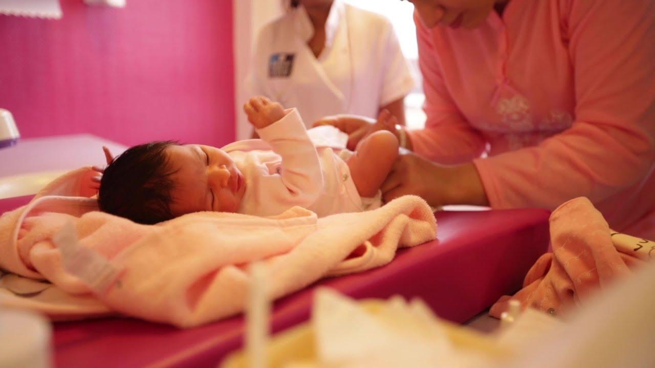 Présentation de la maternité de l'Hôpital privé de l'Ouest Parisien