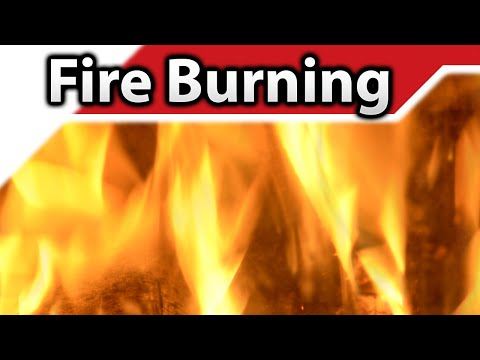 Fire Burning 4K Sound Effect
