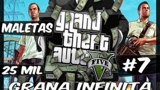 GTA V #7 - Dinheiro Infinito - Maleta de 25 Mil Dolares Fique Rico
