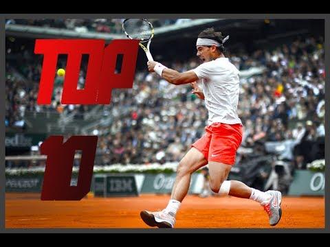 Rafael Nadal ● Top 10 Points Against Ferrer in Grand Slam | HD
