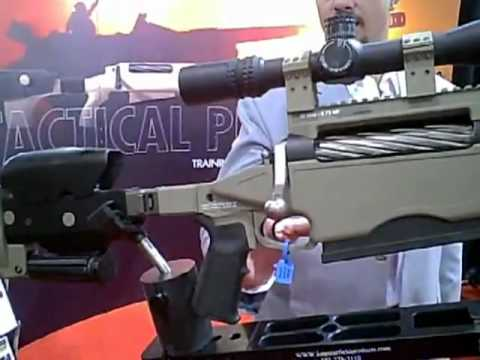 McMillan 50 Cal Sniper Rifle.