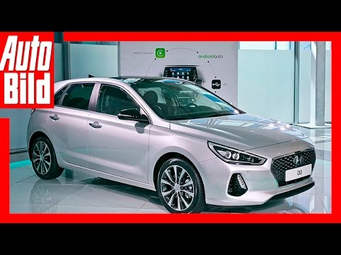 Hyundai i30 2016 Sitzprobe Review Deatails im neuen i30