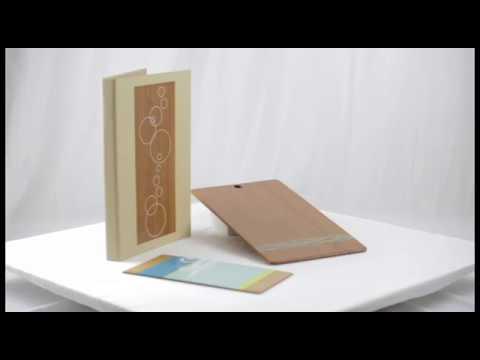Wood Clip Board binder