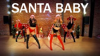 Santa Baby (Dance Routine) - Choreography by Mandy Jiroux & Chelsea Corp
