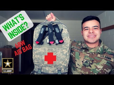 ARMY COMBAT MEDIC (68W) | Aid Bag Items