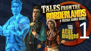 Tales from the Borderlands - Episode 2: Atlas Mugged part 1 (Game Movie) (Cutscenes) (No Commentary)