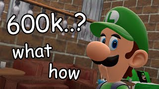 luigi gets 600k subscribers what how