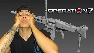 operation 7   mg3   la arma mas ventajosa de op7   oscar matta