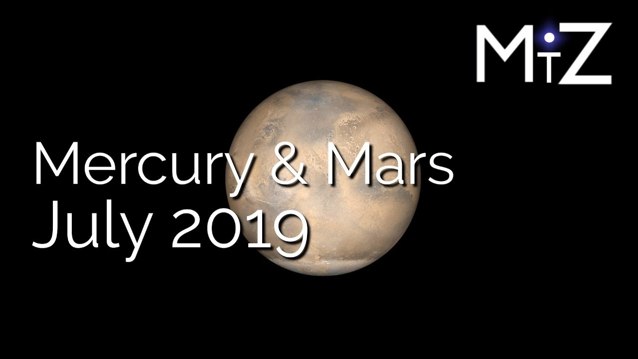 Mercury Retrograde Conjunct Mars July 8th 2019 - True Sidereal Astrology