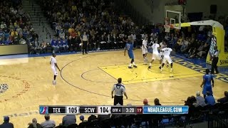 Highlights: Tu Holloway (36 points)  vs. the Warriors, 12/4/2015