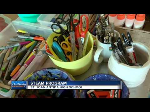 Students innovate with art in 'STEAM' program