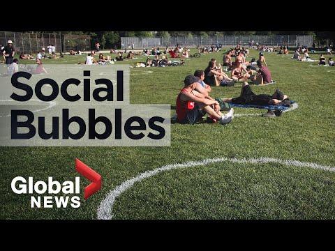Coronavirus: How safe are social bubbles?