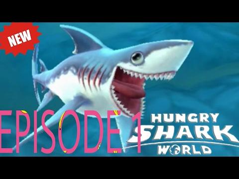 Hungry shark evolution |Reef shark| episode 1
