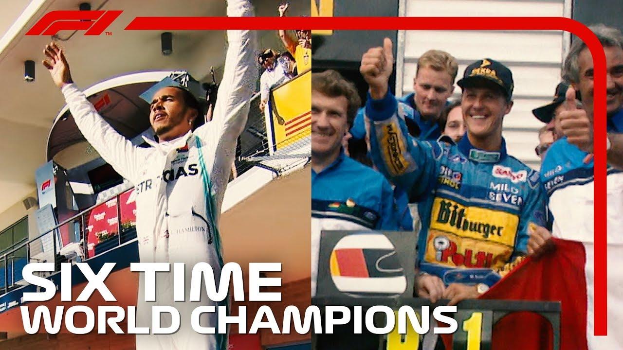 Lewis Hamilton And Michael Schumacher: Six Time World Champions