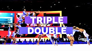 Every Triple Double Simone Biles Has Ever Performed
