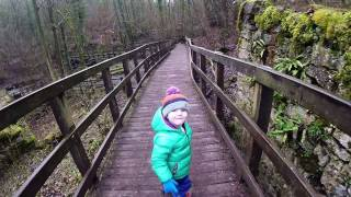 Outdoor Family Fun at Loggerheads Country Park, North Wales