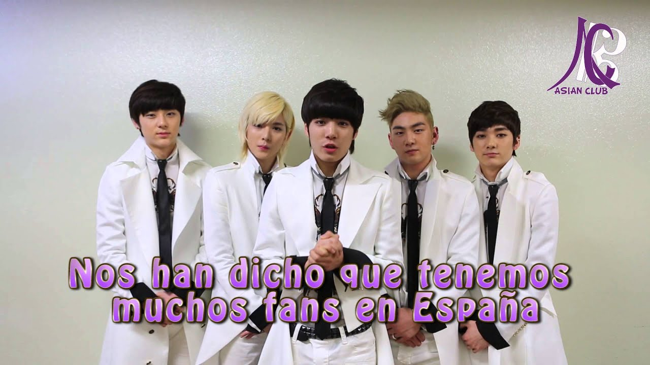 NU'EST greeting for Asian Club Spain