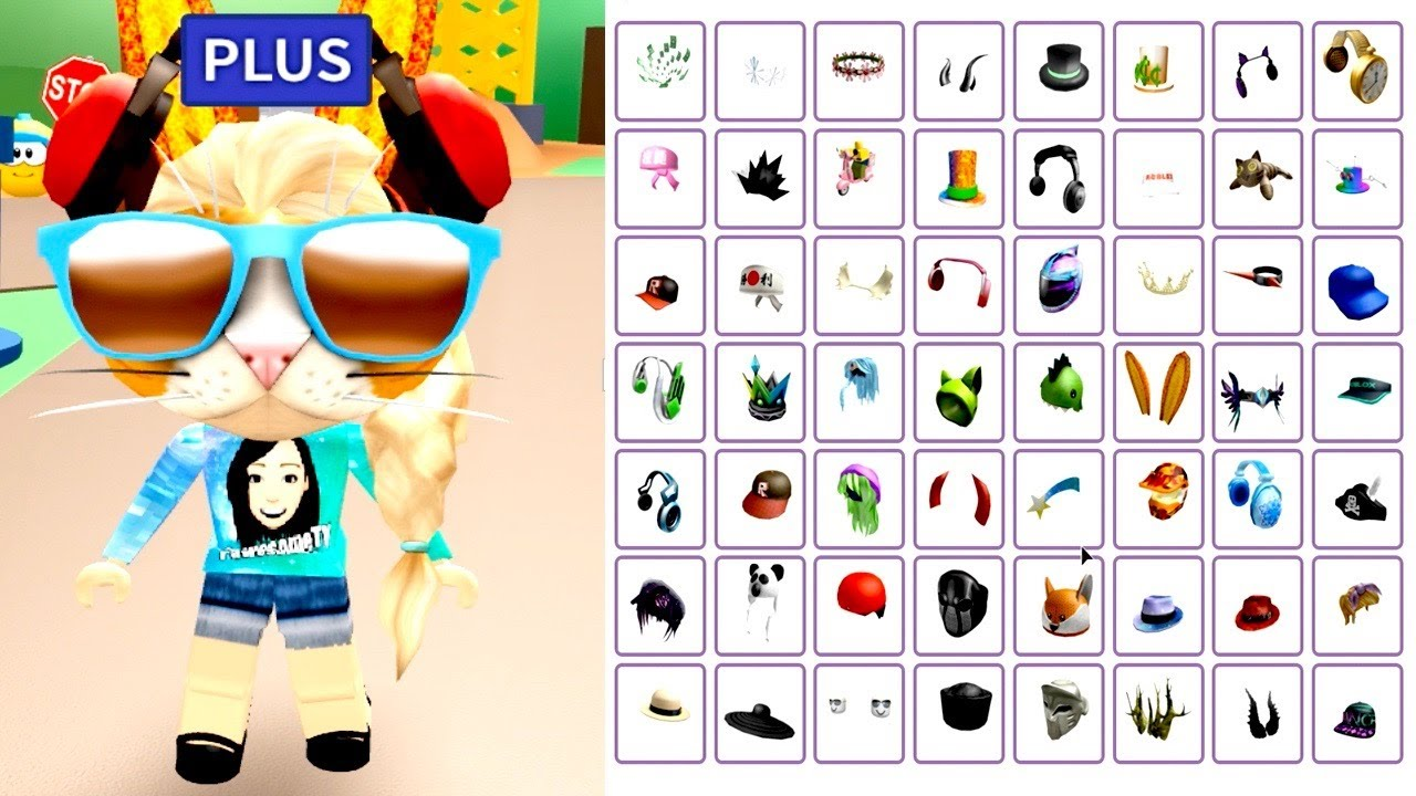 roblox free avatar items