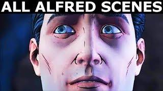 All Alfred Scenes - Vigilante Joker Path - BATMAN Season 2 The Enemy Within Episode 5: Same Stitch