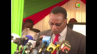 Kaimenyi Gives 2015 KCSE Results
