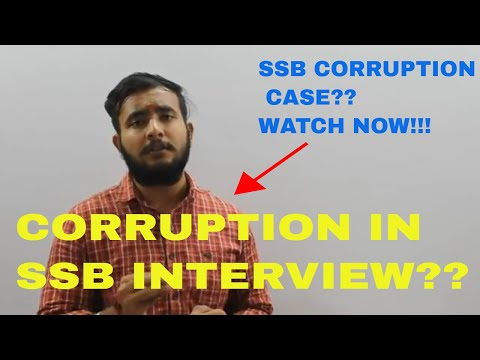 CORRUPTION IN SSB INTERVIEW?? A VERY IMPORTANT VIDEO!!!