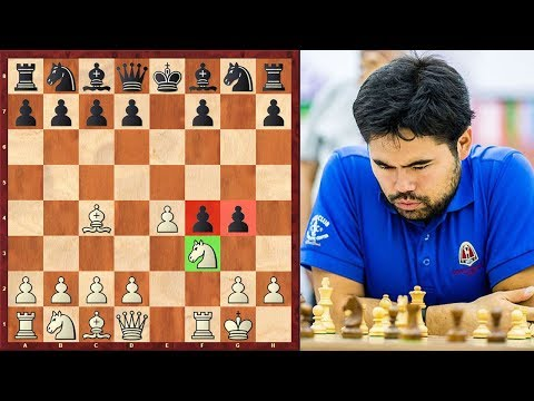 Just Wow! Nakamura Goes For King's Gambit And Even Chooses Muzio Gambit