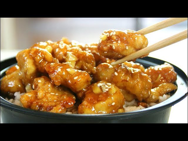 Better Than Takeout Honey Crispy Chicken Youtube