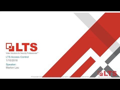 LTS New Jersey Access Control Webinar - 1-10-2018