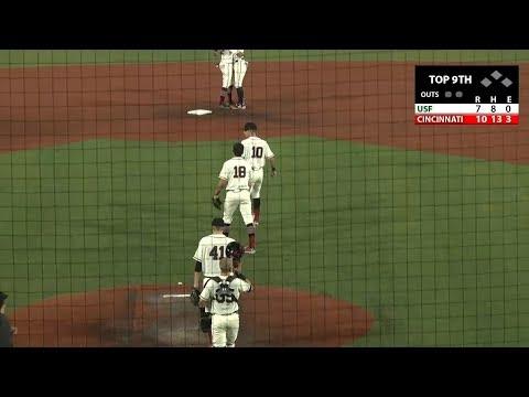 Baseball Recap: Cincinnati 10,  USF 7